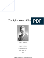 The Spice Notes of Fragrance