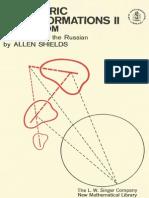 [I.M. Yaglom] Geometric Transformations II