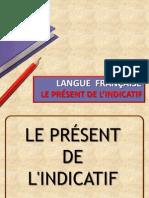 Verbes 1er et 2e groupe au présent de l'Indicatif (FR)