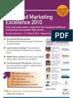 MDDexec's European Sales & Marketing Summit, 17-18 March 2010, London