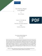 First Draft of a Report on the EDVAC - By John Von Neumann