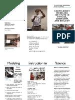 Modeling Brochure 2012
