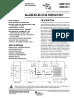 24-Bit, Analog-To-Digital Converters (Rev. B) - Texas Instru