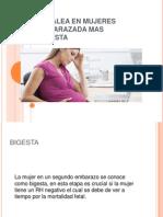 Cefalea en Mujeres Embarazada Mas Bigesta