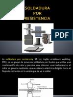 Soldadura x Resistencia