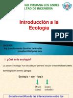 Clase 002 Introduccion a La Ecologia