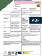 Ficha de Seguridad de Acido Sulfurico