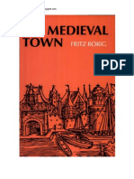The Medieval Town From Fritz Rörig