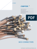 MCX Connector Series