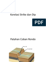 Korelasi Strike Dan Dip