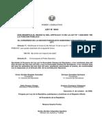 Ley 3031 2006 Que Modifica El Inciso b) Del Artí-culo 14 de La Ley Nº 1.626 00 de La Función Pública