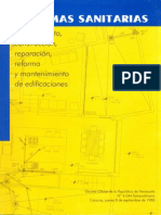Normas Sanitarias PDF