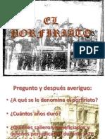 Preentacion El Porfiriato