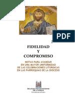 Liturgia, Fidelidad y Compromiso