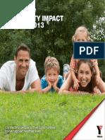 YMCA NSW - Annual Report 2013