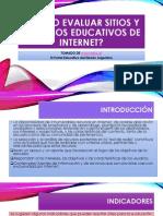 Cómo Evaluar Sitios y Recursos Educativos De