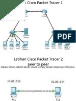 Latihan Cisco Packet Tracer 1,2,3,4