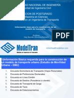 02 Informacion Basica Del Modelo de Transporte