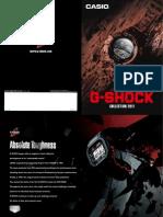 G-Shock 2011 Catalog