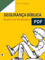 Livro eBook Seguranca Biblica Voce e Um Verdadeiro Cristao