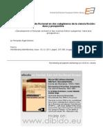 Desarrollo Del Contrato Ficcional en Dos Subgéneros de La Ciencia Ficción Dura y Prospectiva
