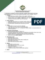 Ficha de Orientação - Psitacídeos
