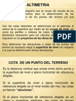 Nivelacion Topografica 4-1