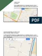 Mapa Colegio Integral Gladys Lazo