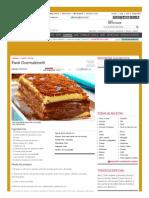 Receita de Pavê Ovomaltine® - Culinária - MdeMulher - Ed
