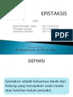 125249114 Epistaksis Ppt Pptx
