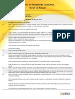Atalhos de Teclado Para Funcoes Excel2010