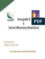 Técnicas de Termografía e Infiltraciones en Edficios