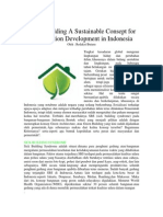 Green Building a Sustainable Consept for Construction Development in Indonesia