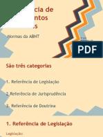 ABNT - referência de docs jurídicos