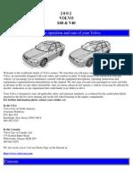2002 Volvo S40 & V40