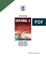 Prontuario 3er.grado Español