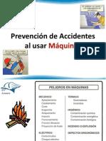 Prevención de Accidentes en El Uso de Maquinas