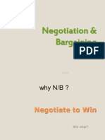 Psychology of Negotiation