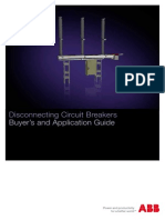 DCB Disconnecting Circuit Breakers