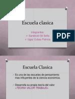 Presentación Escuela Clásica Economía