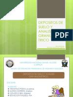 Depositos de Suelo y Analisis Granulome Diapositivas