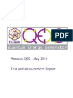 Morocco & QEG Tests & Measurements Report