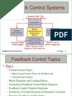 Feedback Control Systems Part 1 KCC 2011