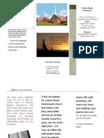Church Brochure Publisher)
