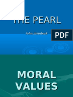 moral values 'THE PEARL'