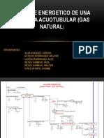 Balance Energetico de Una Caldera Acuotubular (Gas