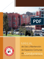Manual Condominios Uso y Manten Areas Comunes13!10!09
