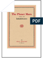 Planet Mars and Its Inhabitants