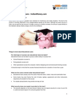 Basics and Concepts on Education Loans by IndianMoney.com