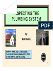 Inspecting the Plumbing System